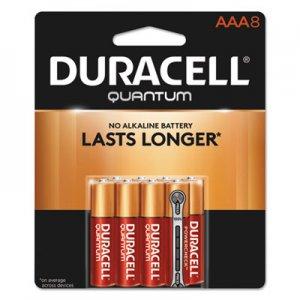 Duracell Quantum Alkaline Batteries, AAA, 8/PK DURQU2400B8Z QU2400B8Z