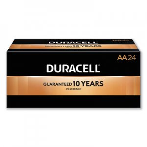 Duracell CopperTop Alkaline Batteries, AA, 24/Box DURMN1500B24 MN1500BKD