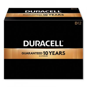 Duracell CopperTop Alkaline D Batteries, 12/Box DURMN1300 MN1300