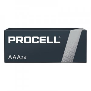 Duracell Procell Alkaline Batteries, AAA, 24/Box DURPC2400BKD PC2400BKD