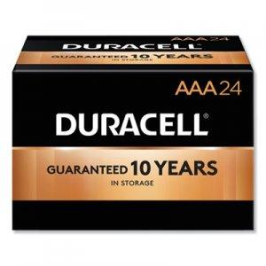 Duracell CopperTop Alkaline Batteries, AAA, 24/BX DURMN2400B24000 MN2400BKD