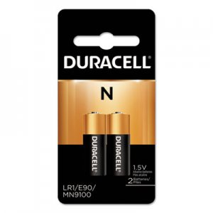 Duracell Coppertop Alkaline Medical Battery, N, 1.5V, 2/Pk DURMN9100B2PK MN9100B2PK