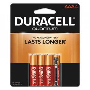 Duracell Quantum Alkaline Batteries, AAA, 4/PK DURQU2400B4Z QU2400B4Z