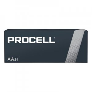 Duracell Procell Alkaline Batteries, AA, 24/Box DURPC1500BKD PC1500BKD