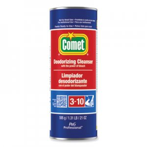 Comet Cleanser with Chlorinol, Powder, 21 oz Canister, 24/Carton PGC32987CT 32987