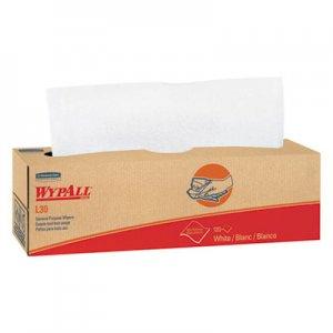 WypAll L30 Towels, POP-UP Box, 9 4/5 x 16 2/5, 100/Box, 8 Boxes/Carton KCC05800 5800