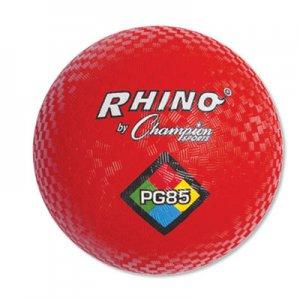 """Champion Sports Playground Ball, 8-1/2"""" Diameter, Red CSIPG85 PG85"""