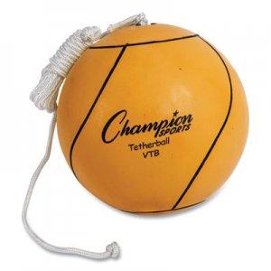Champion Sports Tether Ball, Playground Size, Optic Yellow CSIVTB VTB