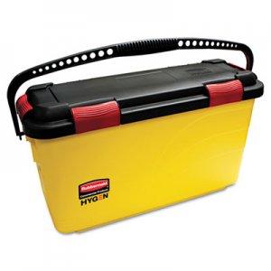 Rubbermaid Commercial HYGENE HYGEN Charging Bucket, Yellow RCPQ95088YW FGQ95088YEL