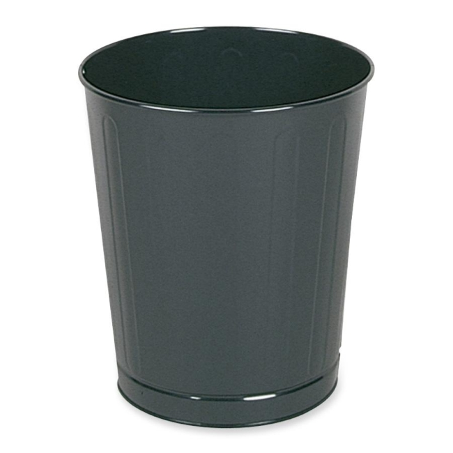 United Receptacle Fire-Safe Wastebasket WB26BK RCPWB26BK