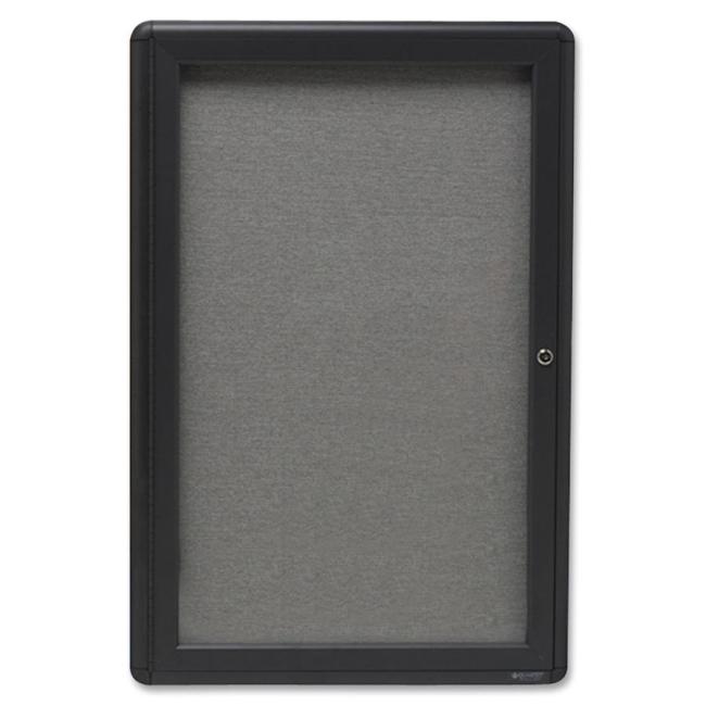 ACCO Radius Frame Indoor Bulletin Board 2363L QRT2363L