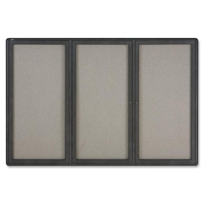 ACCO Radius Frame Indoor Bulletin Board 2367L QRT2367L