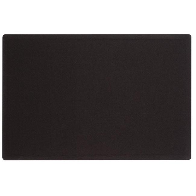 ACCO Oval Office Frameless Fabric Tack Bulletin Board 7683BK QRT7683BK