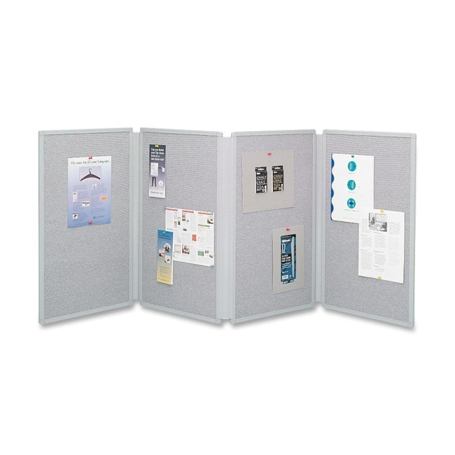 ACCO Four Panel Tabletop Display 773630 QRT773630