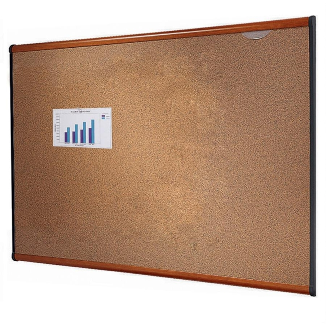 ACCO Prestige Colored Cork board B243LC QRTB243LC