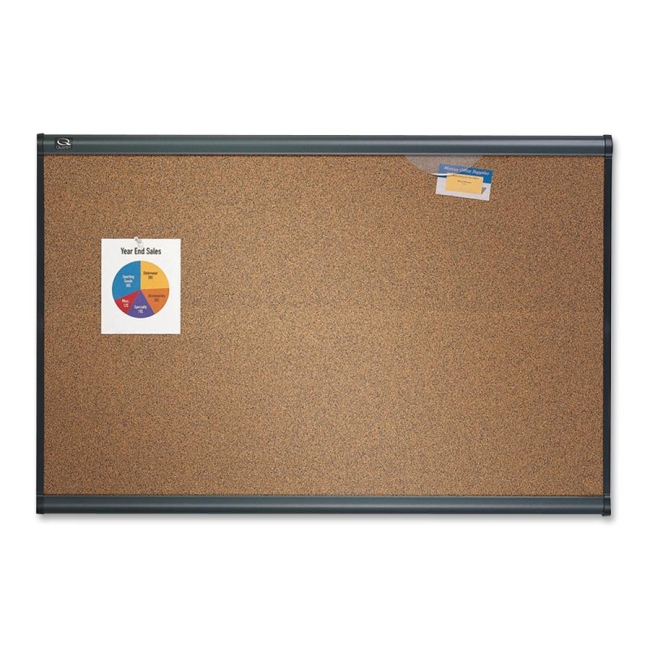 ACCO Prestige Colored Cork board B247G QRTB247G