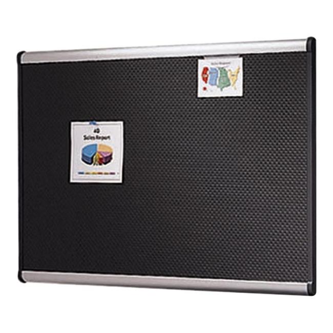 ACCO Prestige Black Embossed Foam Board B343A QRTB343A