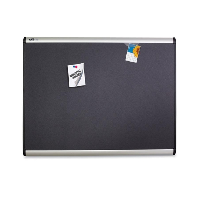 ACCO Magnetic Fabric Bulletin Board MB543A QRTMB543A