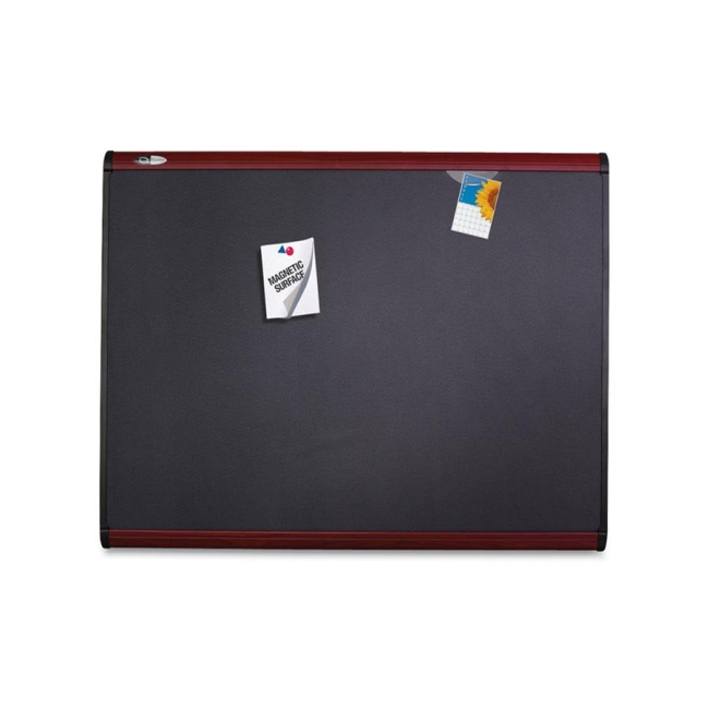 ACCO Magnetic Fabric Bulletin Board MB543M QRTMB543M