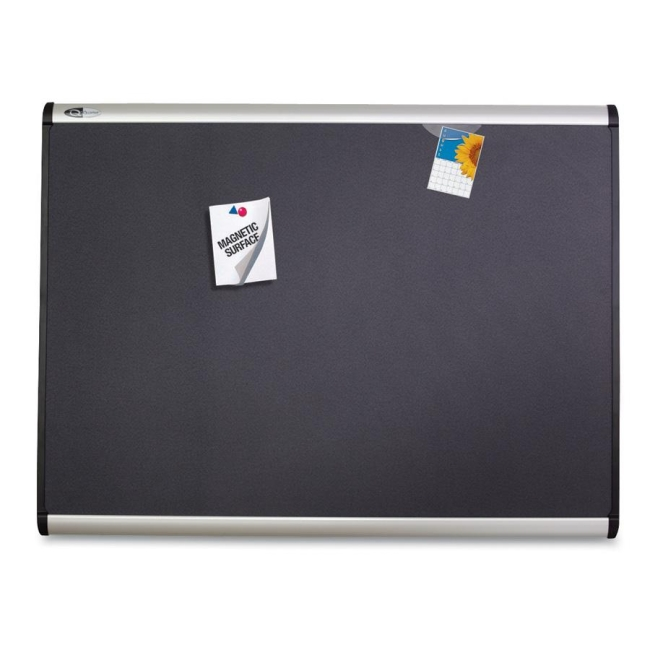 ACCO Magnetic Fabric Bulletin Board MB544A QRTMB544A