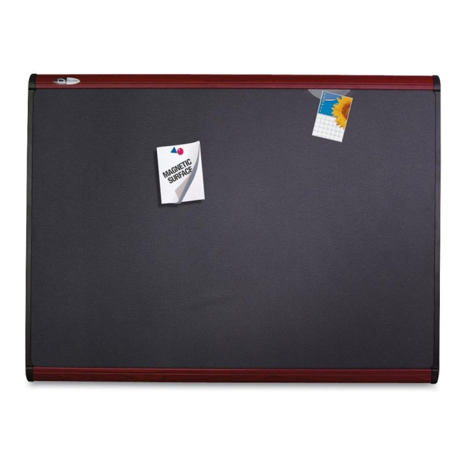 ACCO Magnetic Fabric Bulletin Board MB544M QRTMB544M