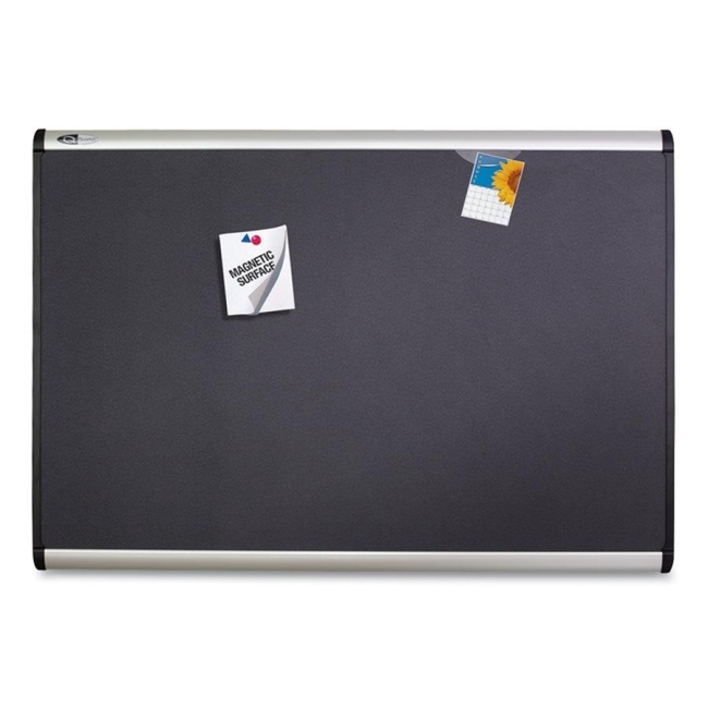 ACCO Magnetic Fabric Bulletin Board MB547A QRTMB547A