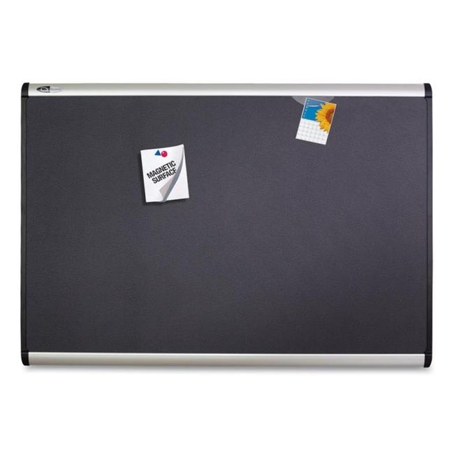 ACCO Magnetic Fabric Bulletin Board MB547A QRTMB547A