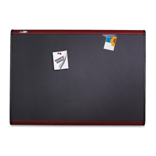 ACCO Magnetic Fabric Bulletin Board MB547M QRTMB547M
