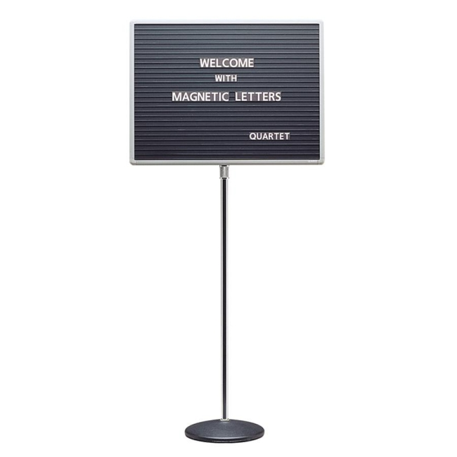 ACCO Adjustable Standing Magnetic Letterboard 7920M QRT7920M
