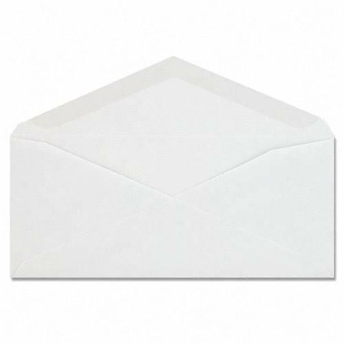 Mead Columbian Plain White Business Envelope CO115 QUACO115