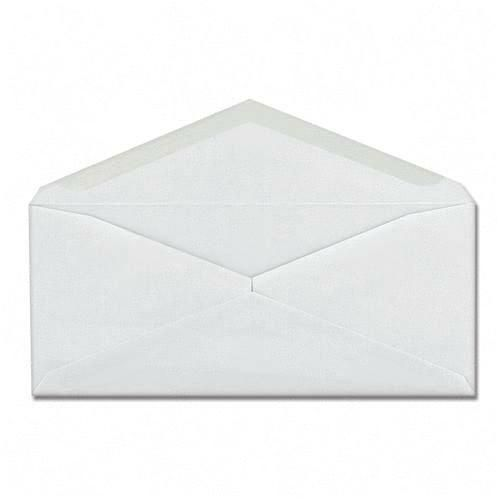 Mead Columbian Plain White Business Envelope CO125 QUACO125