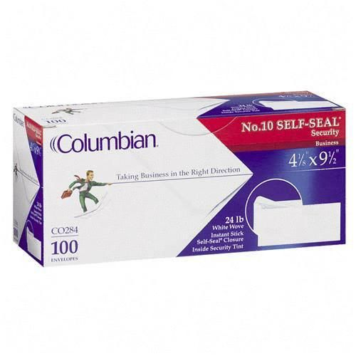 Mead Columbian SELF-SEAL Business Envelope CO284 QUACO284