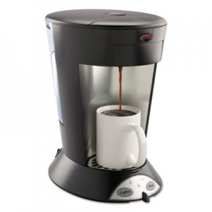 BUNN My Cafe Pourover Commercial Grade Coffee/Tea Pod Brewer, Stainless Steel, Black BUNMCP 35400.0000