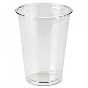 Dixie Clear Plastic PETE Cups, Cold, 10oz, WiseSize, 25/Pack, 20 Packs/Carton DXECP10DX CP10DX