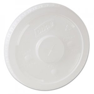 Dixie Plastic Lids for Pathways Cold Drink Cups, 12 & 16oz, 1200/Carton DXE914LSRD 914LSRD