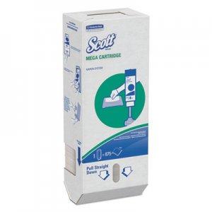 Scott MegaCartridge Napkins, 1-Ply, 8 2/5 x 6 1/2, White, 875/Pack, 6 Packs/Carton KCC98908 98908