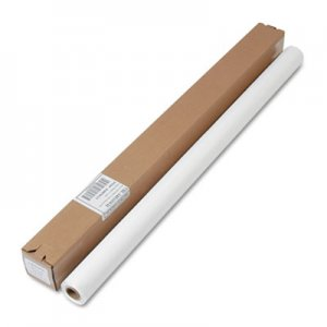 """Tablemate Table Set Plastic Banquet Roll, Table Cover, 40"""" x 100ft, White TBLI4010WH I4010WH"""
