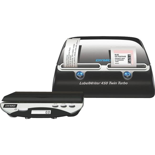 Dymo LabelWriter Desktop Mailing Label Printer 1757660 450 Twin Turbo