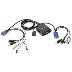 Iogear KVM Switch with Audio GCS72U