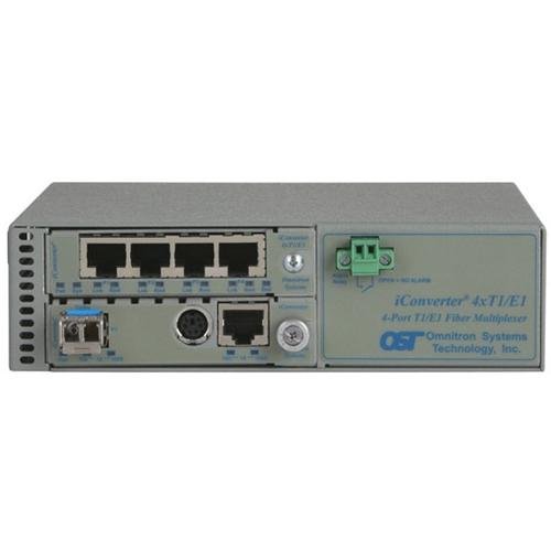 Omnitron iConverter Managed T1/E1 Multiplexer 8831N-1-C 8831N-1