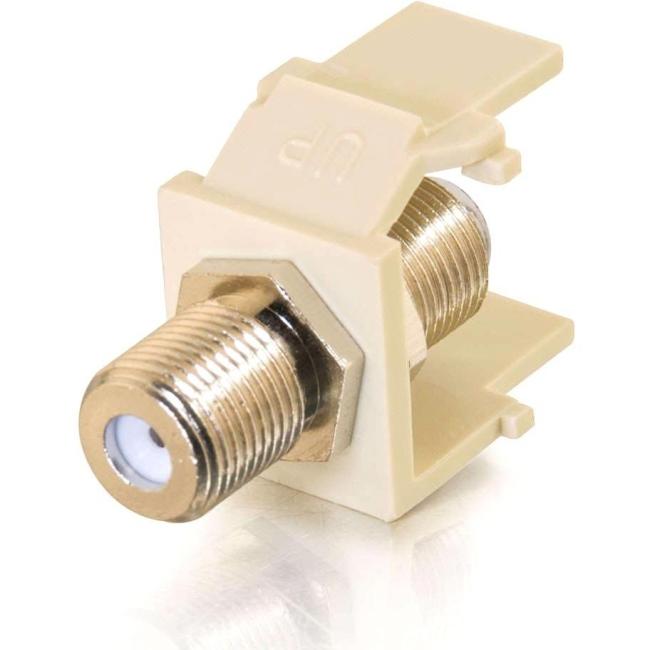 C2G Snap-In F-connector Keystone Module 03814