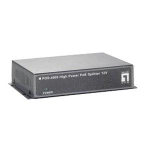 LevelOne High Power PoE Splitter 12V Indoor POS-4000