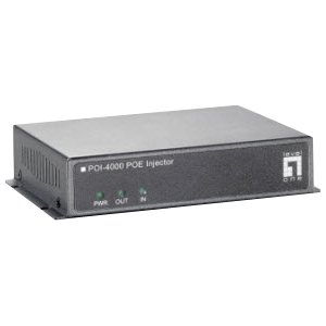 LevelOne High Power PoE Injector, 56W POI-4000