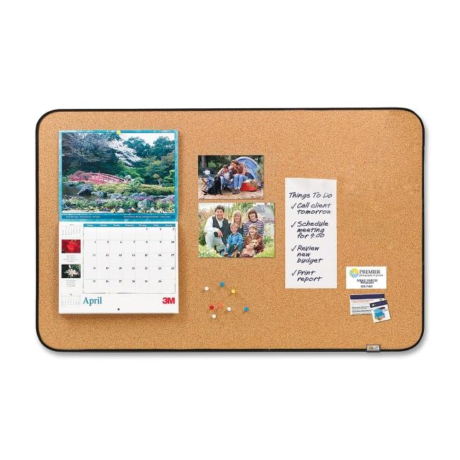 3M Post-it Sticky Cork Board 558-BB MMM558BB