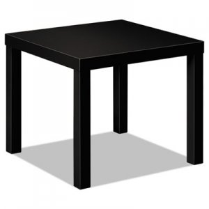 HON Laminate Occasional Table, 24w x 24d x 20h, Black BSXBLH3170P HBLH3170.P
