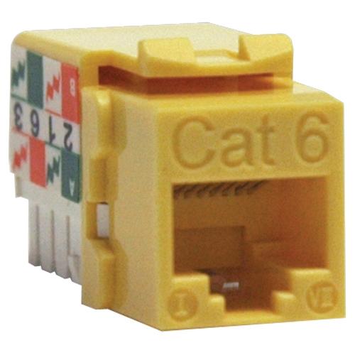 Tripp Lite Cat6 110-punch Down Keystone Jack N238-001-YW