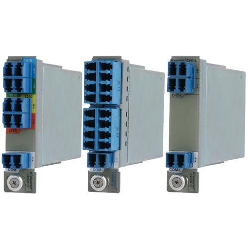 Omnitron iConverter 4-Channel Multiplexer 8860-3