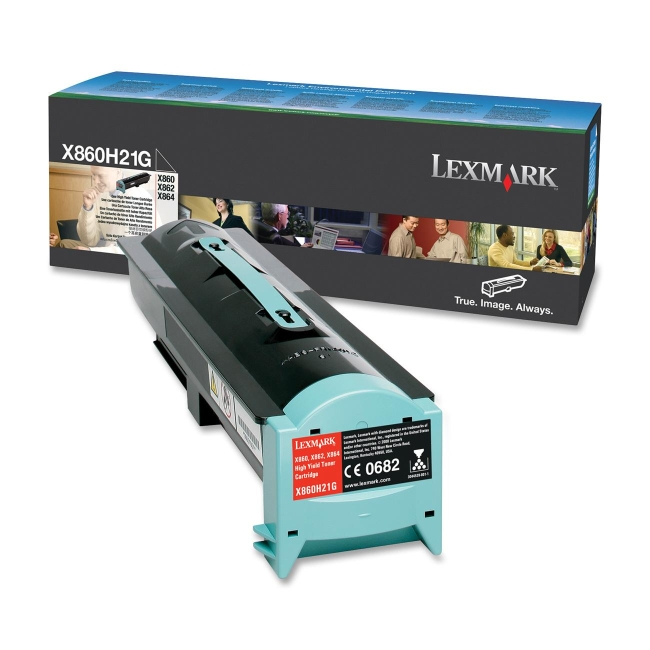 Lexmark High Yield Toner Cartridge X860H21G