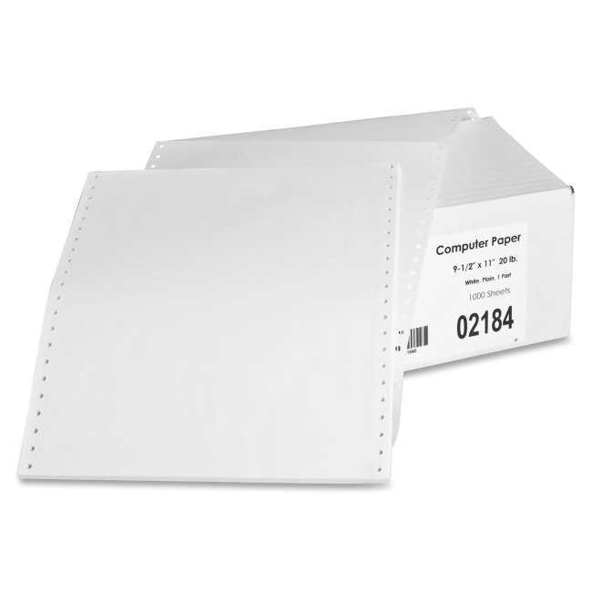 Sparco Continuous Feed Computer Paper 02184