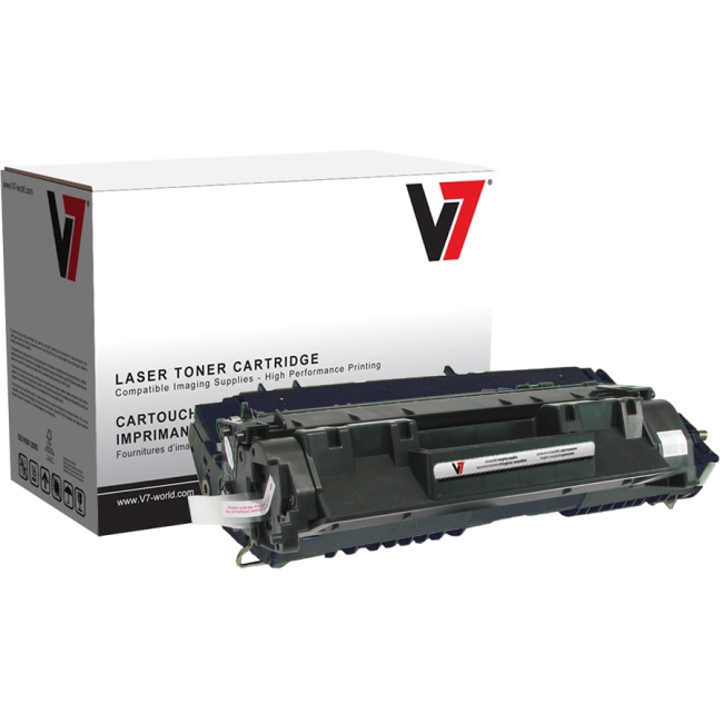 V7 Black Toner Cartridge For HP LaserJet P2030, P2035, P2035N, P2055, P2055D, P2 V705A